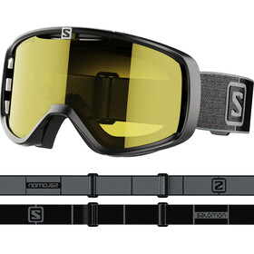 Salomon Aksium Access Goggles black/grey/low yellow